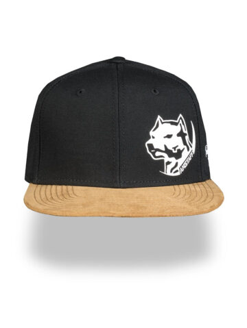 Amstaff nokamüts must/kuldne