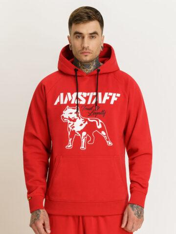 Amstaffi punane dressikomplekt