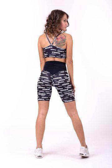 NEBBIA x SEAQUAL™️ biker shorts